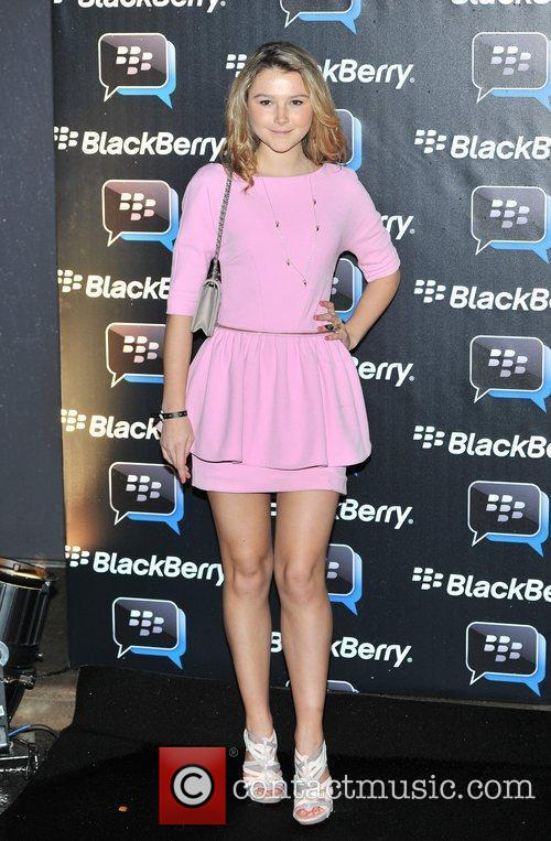 Amber Atherton Blackberry BBM - party held at...
