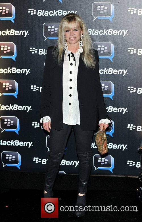 Jo Wood Blackberry BBM - party held at...