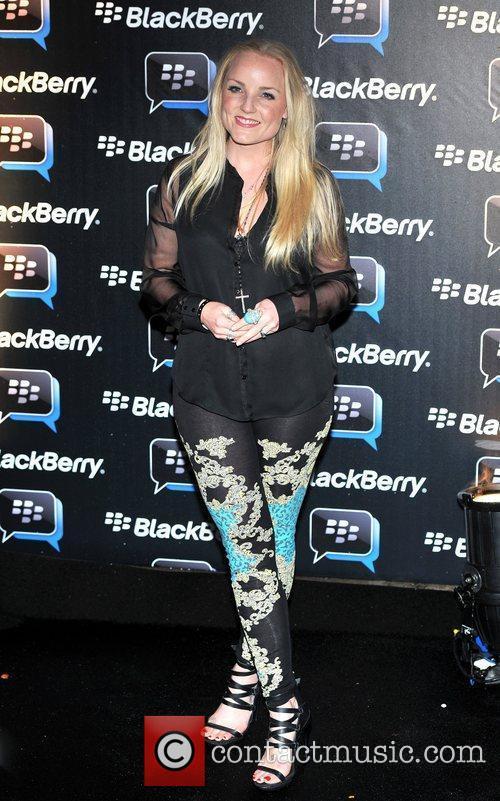 Kerry Ellis Blackberry BBM - party held at...