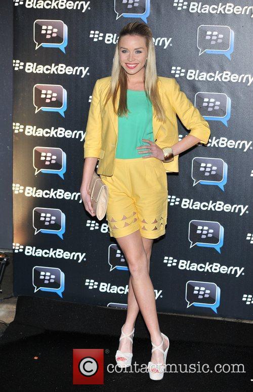 Noelle Reno Blackberry BBM - party held at...