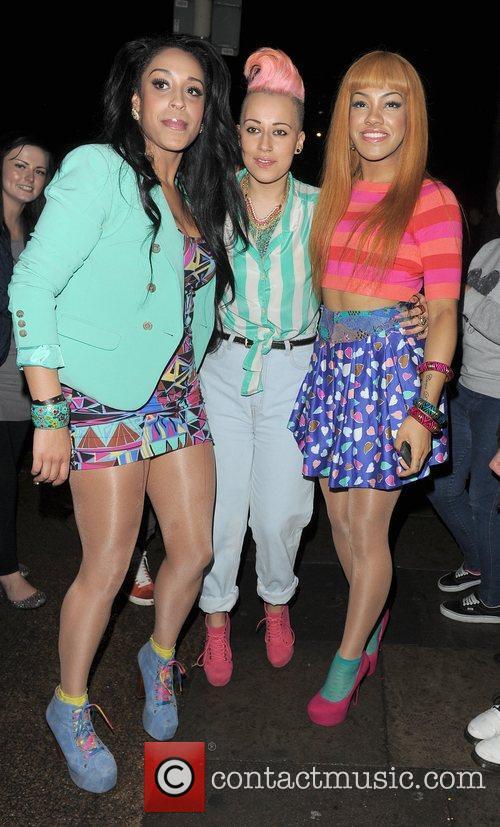 Jessie J, Lauren Goodger and Lydia 10