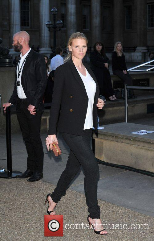 Lara Stone 'Blackmail' world film premiere held at...
