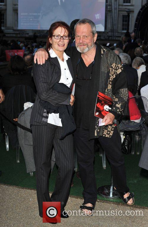 Terry Gilliam and Maggie Weston 'Blackmail' world film...
