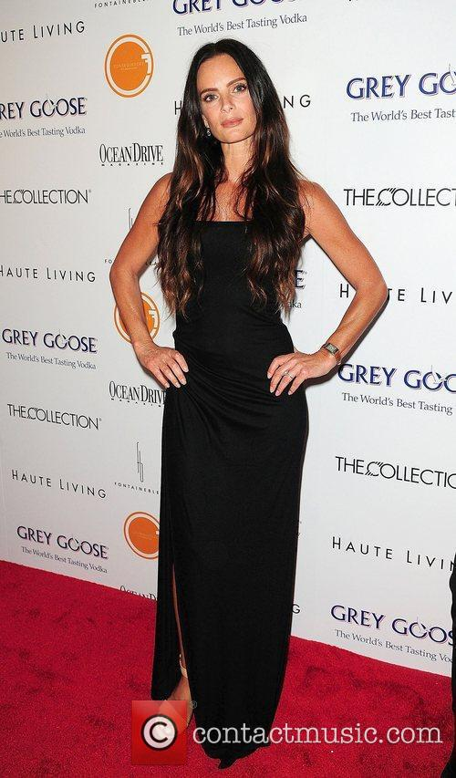 Gabrielle Anwar attend the Black's Annual Gala 2012...