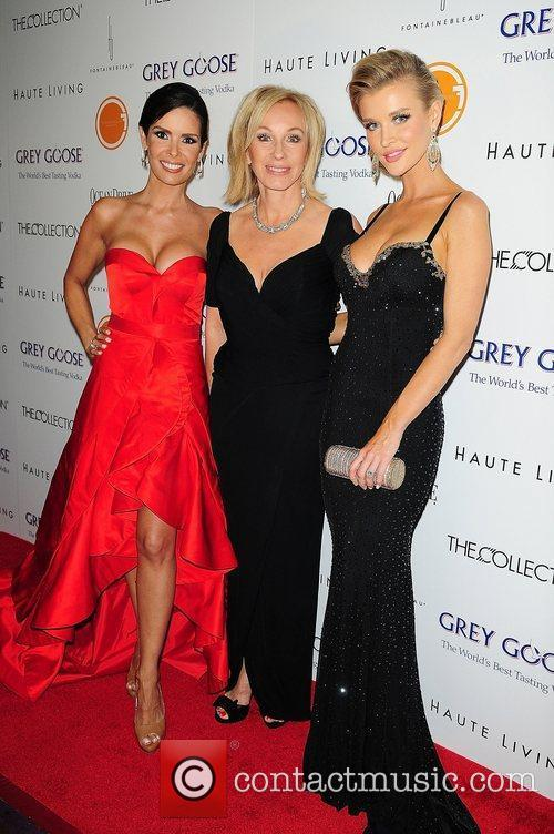 Karent Sierra, Lea Black and Joanna Krupa attends...