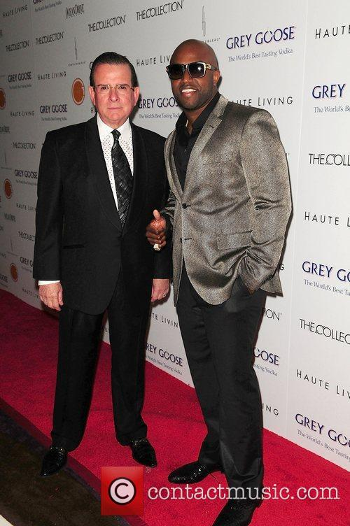 Herman Echevarria and Rico Love attends Lea &...
