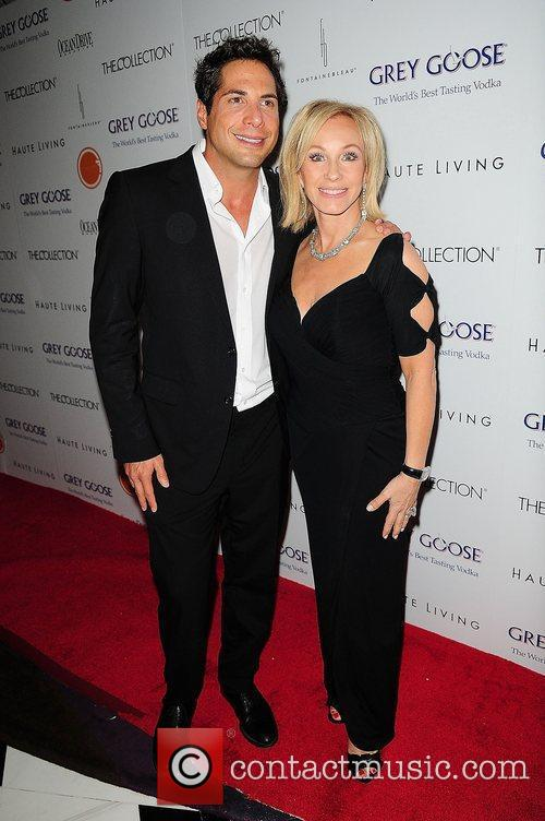 Joe Francis and Lea Black attends Lea &...