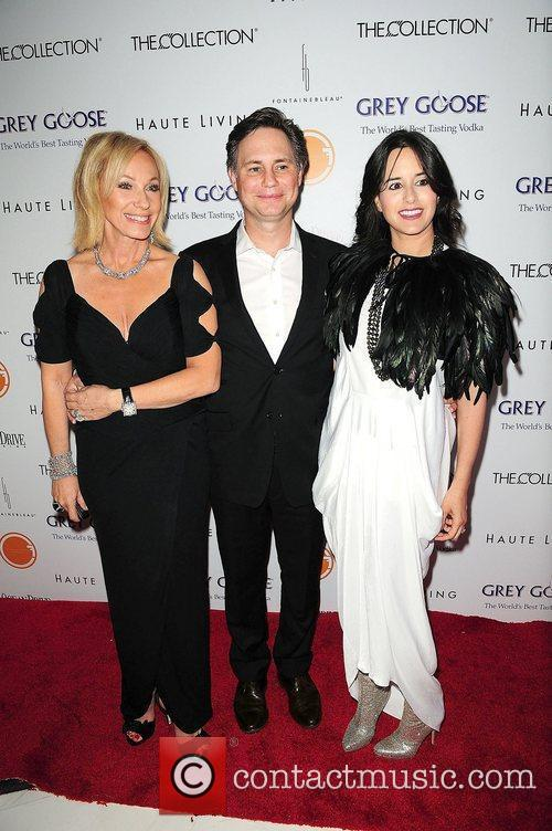 Lea Black, Jason Binn and wife Haley Binn...