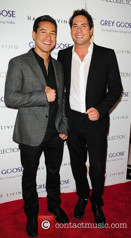 Mario Lopez and Joe Francis attends Lea &...
