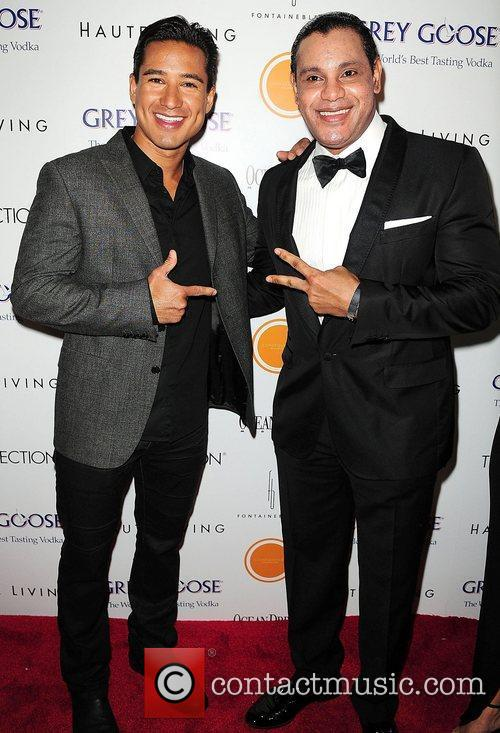 Mario Lopez and Sammy Sosa attends Lea &...