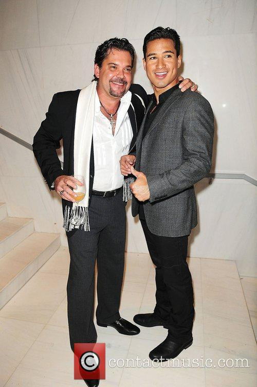 Robert Garcia and Mario Lopez attends Lea &...