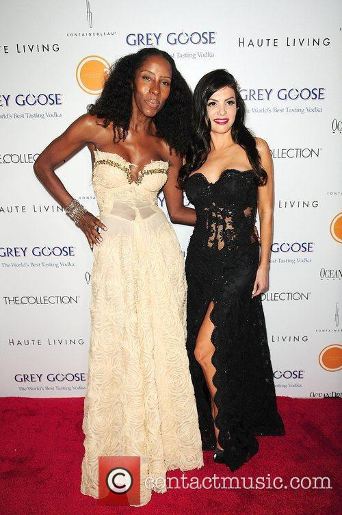 Taynya Marie and Adriana De Moura attend the...
