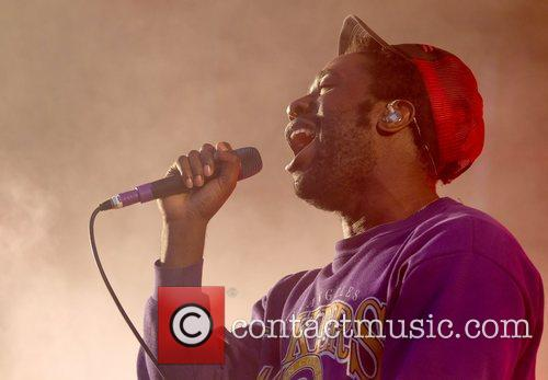 Bloc Party  performing live during Day 4...