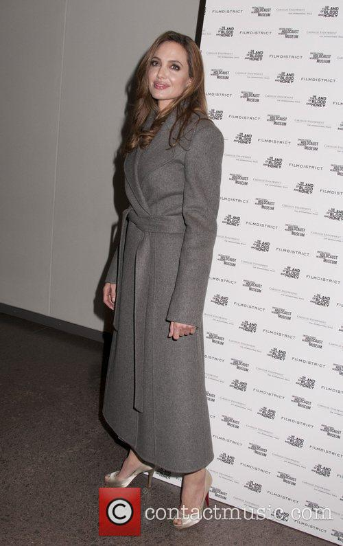 Angelina Jolie attending a special screening of In...