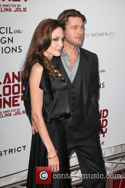 Angelina Jolie and Brad Pitt 5