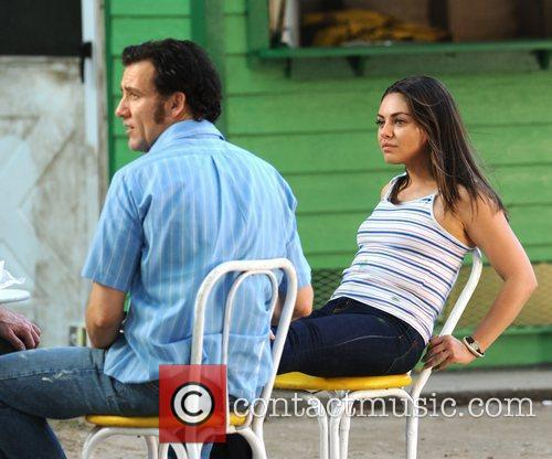 Clive Owen and Mila Kunis 2