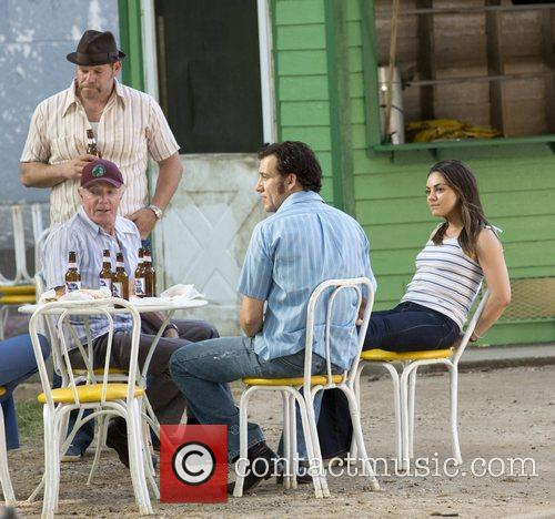 James Caan, Clive Owen and Mila Kunis 3