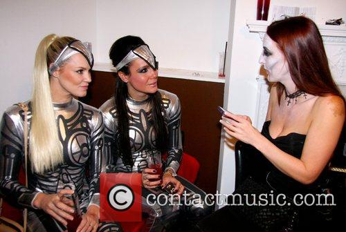 Gladiators, Amy Guy, Siren, Jenny Pacey and Enigma 7