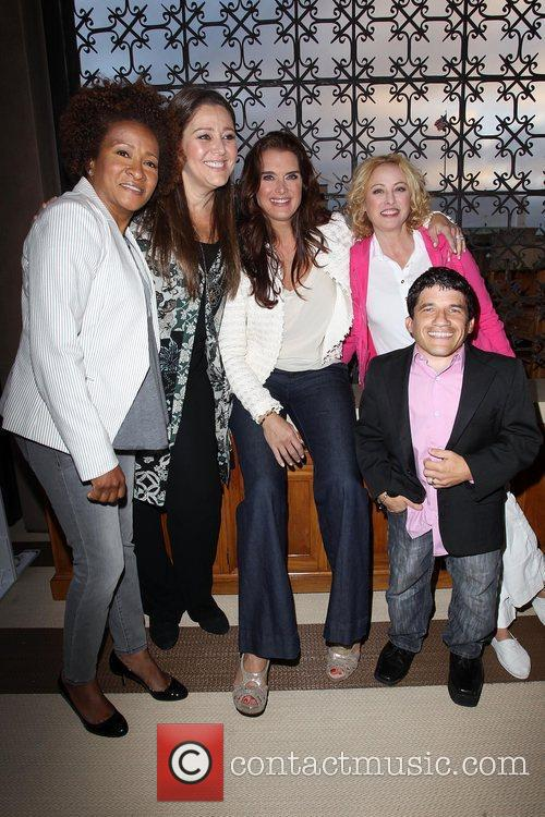 Wanda Sykes, Brooke Shields, Camryn Manheim, Mark Povinelli and Virginia Madsen 8