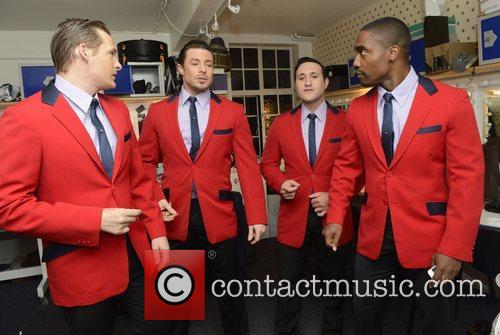 Lee Ryan, Duncan James, Anthony Costa and Simon Webbe 2