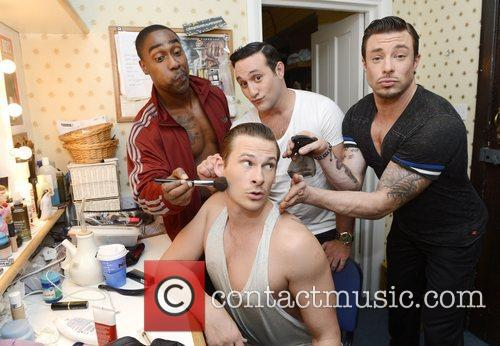Simon Webbe, Anthony Costa, Lee Ryan and Duncan James 1