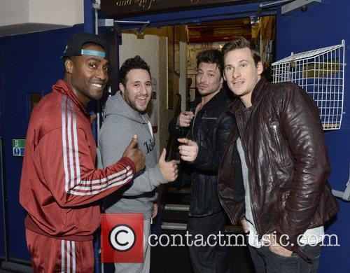 Simon Webbe, Antony Costa, Duncan James and Lee Ryan 2