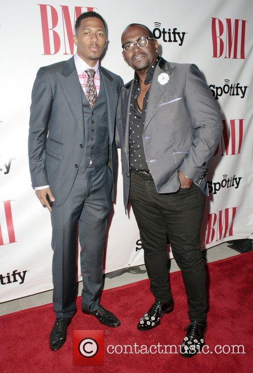 Nick Cannon and Randy Jackson 2