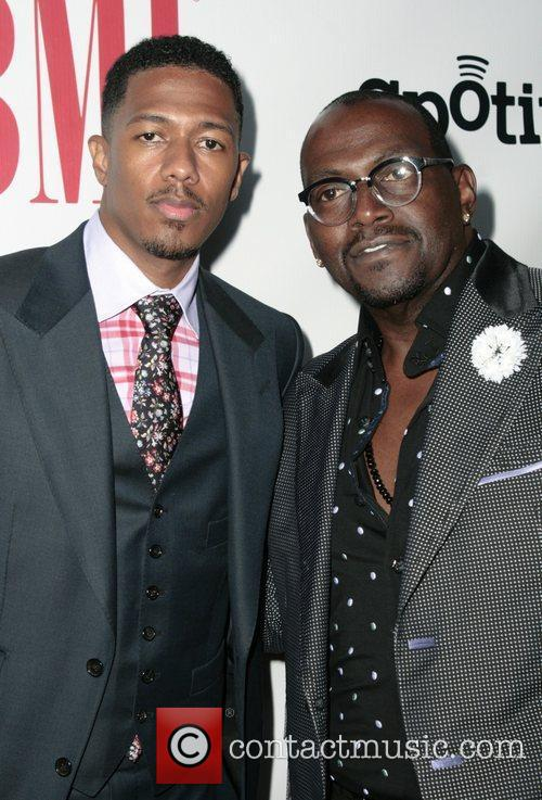 Nick Cannon and Randy Jackson 1