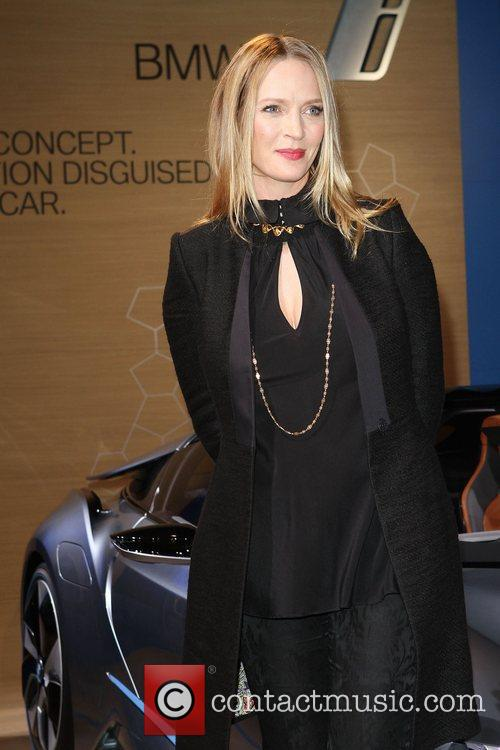 Uma Thurman, Born Electric' World Tour, Opening Night Party and Avenue Of The Americas 15