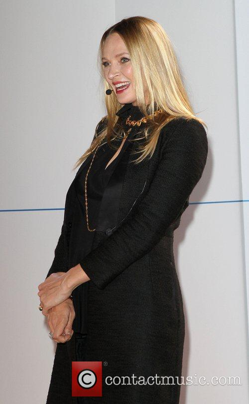 Uma Thurman, Born Electric' World Tour, Opening Night Party and Avenue Of The Americas 18