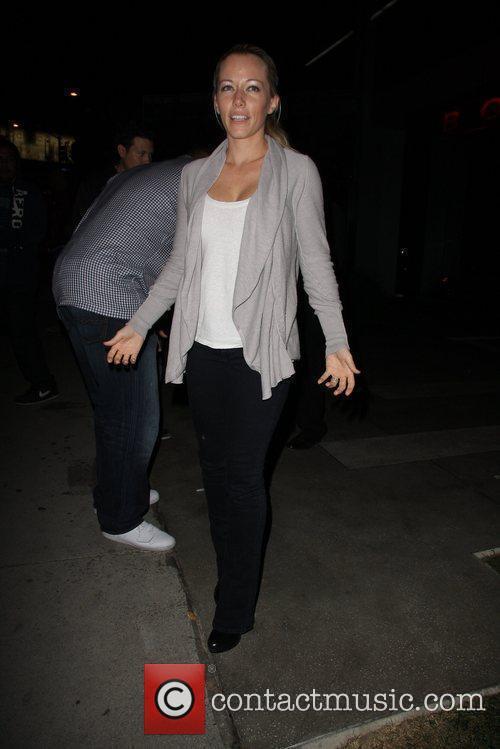 Kendra Wilkinson Celebrities arriving at BOA Steakhouse Los...