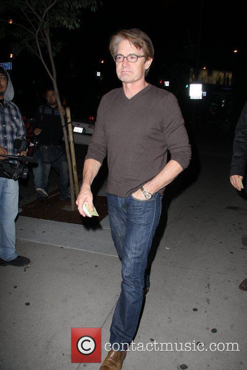 Kyle McLachlan Celebrities arriving at BOA Steakhouse Los...