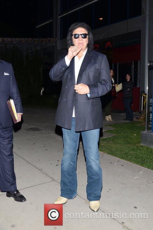 Celebrities are seen outside BOA Steakhouse