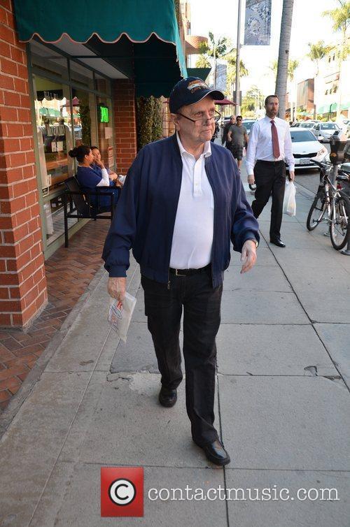 Bob Newhart taking a stroll in Beverly Hills...