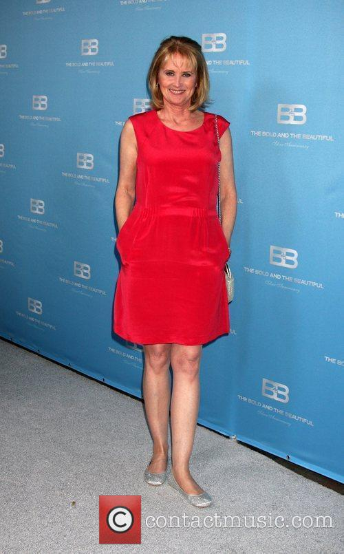 Laurette Spang 25th Silver Anniversary Party For CBS'...