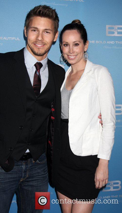 Scott Clifton and Nicole Lampson 25th Silver Anniversary...