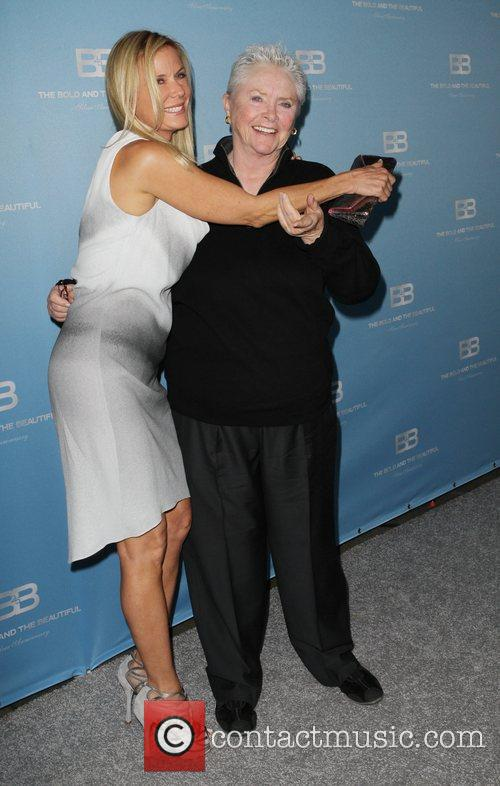Katherine Kelly Lang and Susan Flannery 7