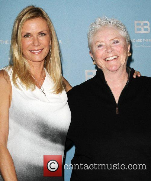 Katherine Kelly Lang and Susan Flannery 8