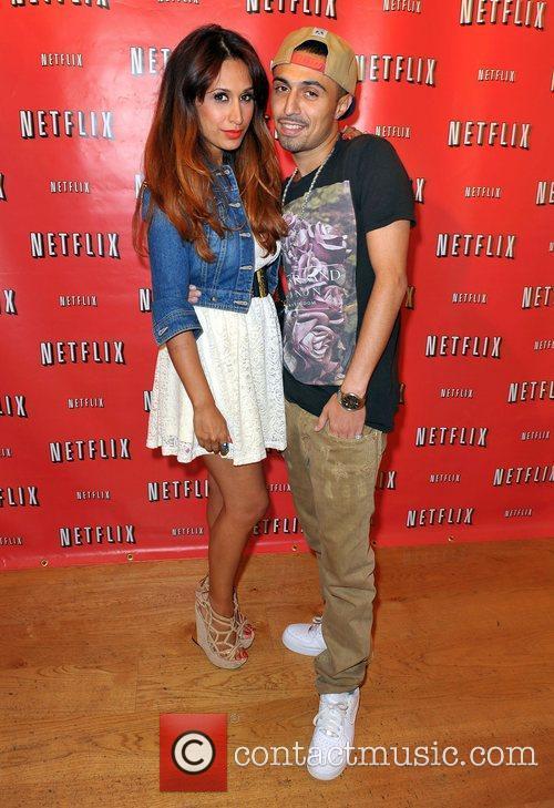 Adam Deacon and Preeya Kalidas at the Netflix...