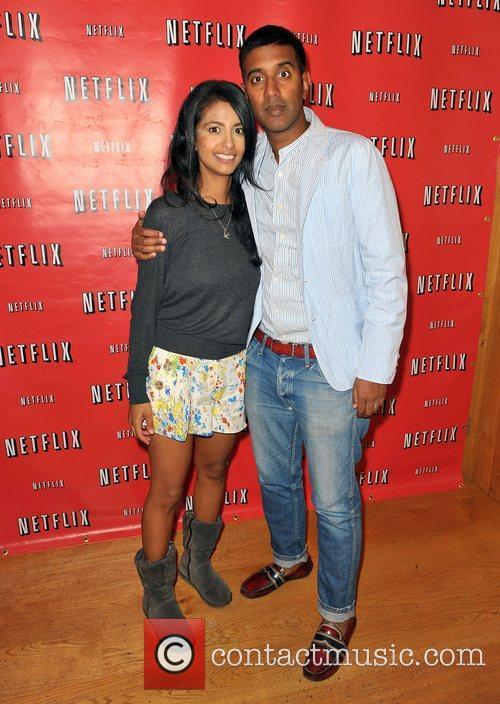 Nihal Arthanayake and Konnie Huq at the Netflix...
