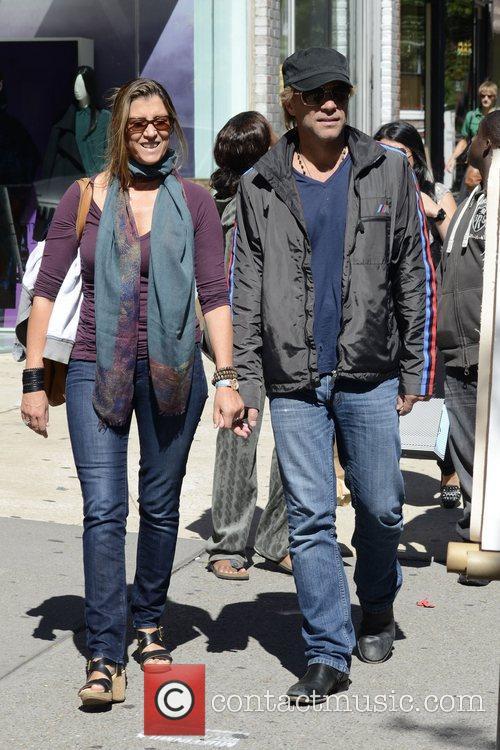 Jon Bon Jovi, Dorothea Hurley and Soho 7