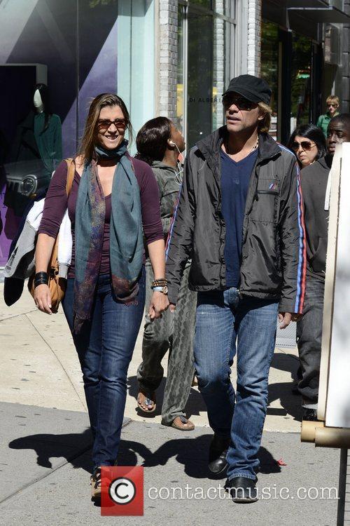 Jon Bon Jovi, Dorothea Hurley and Soho 3