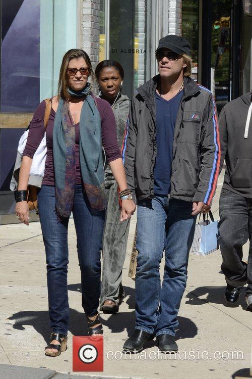 Jon Bon Jovi, Dorothea Hurley and Soho 2