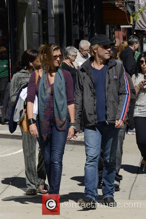 Jon Bon Jovi, Dorothea Hurley and Soho 8