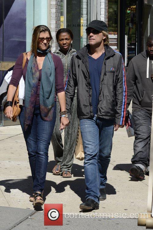 Jon Bon Jovi, Dorothea Hurley and Soho 5
