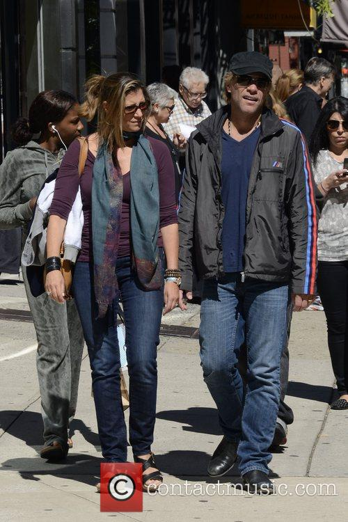 Jon Bon Jovi and wife Dorothea Hurley are...