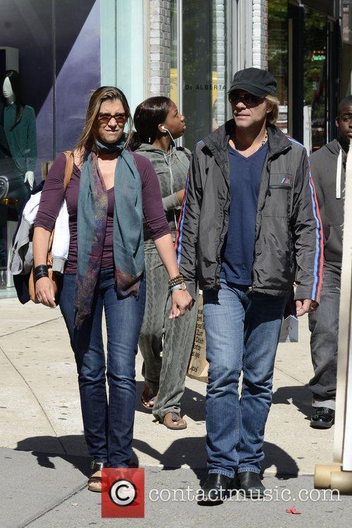Jon Bon Jovi, Dorothea Hurley and Soho 4