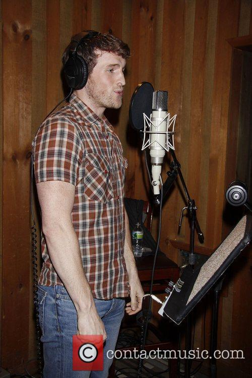 Claybourne Elder  The cast recording session of...