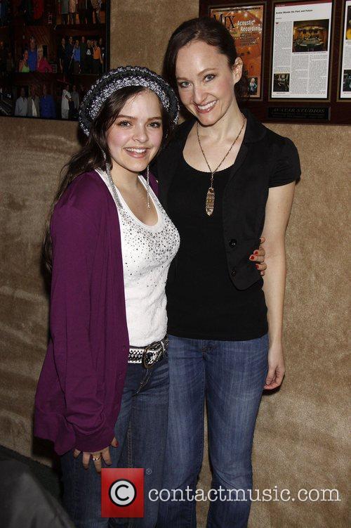 Kelsey Fowler and Melissa van der Schyff...
