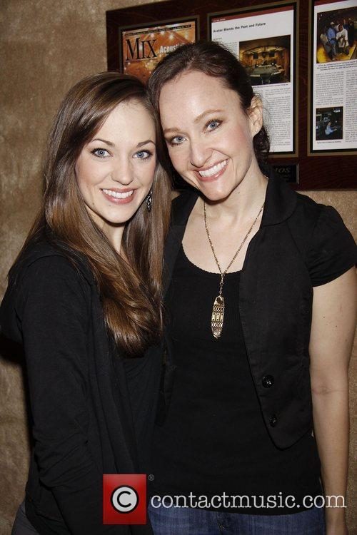 Laura Osnes and Melissa van der Schyff...